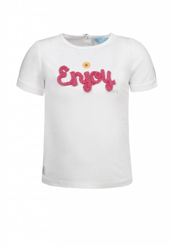 Lief! Lifestyle Lief! T-shirt wit enjoy