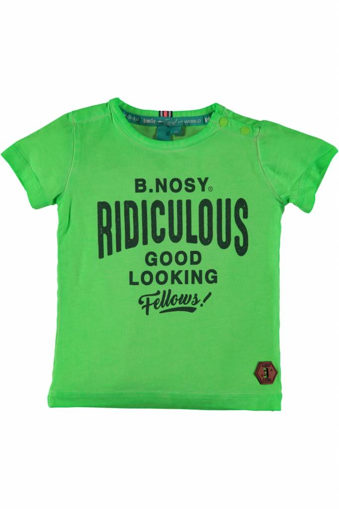 B.Nosy B.Nosy T-shirt good looking neon green
