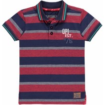Polo Kareem red stripe