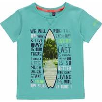 T-shirt Kevin ocean green
