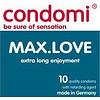 Condomi Max Love condooms - voor uitstellen hoogtepunt