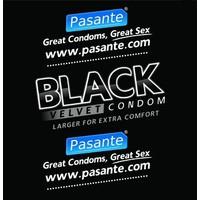 Black Velvet zwarte condooms