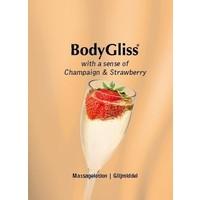 with a sense of Champaign & Strawberry massage-/glijmiddel 100ml