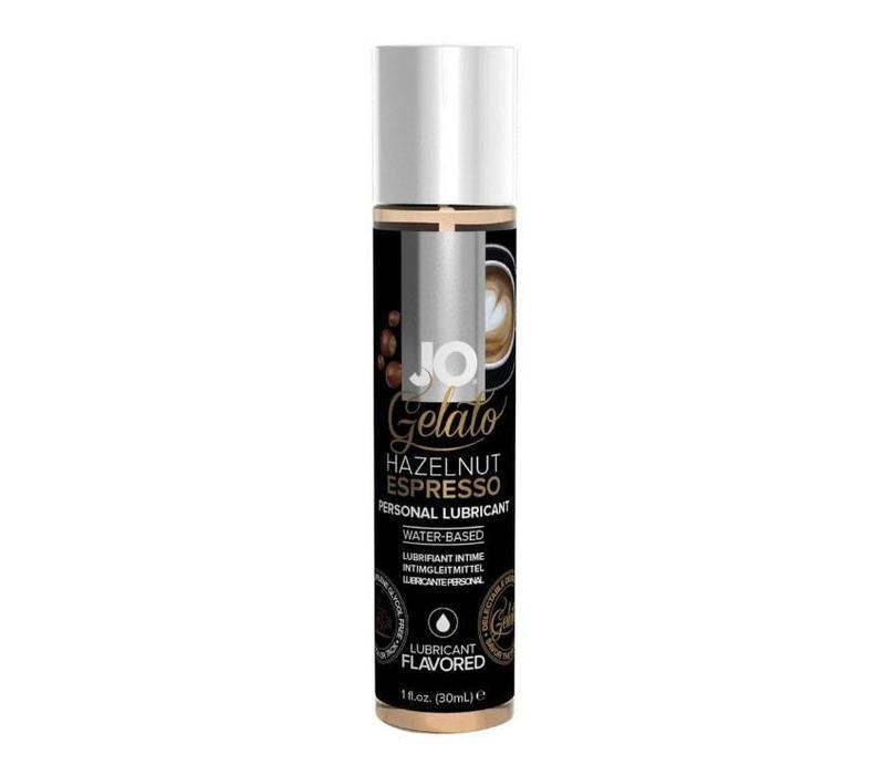 Gelato Hazelnut Espresso - glijmiddel op waterbasis 30ml