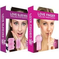 AANBIEDING Love Finger Tingling en Love Sleeves - stimulerende speeltjes