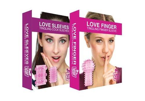 Love in the pocket Love Finger Tingling en Love Sleeves