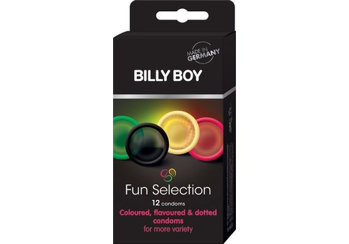 Billy Boy Fun Selection 12 condooms