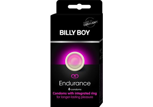 Billy Boy Endurance - 6 condooms met ring
