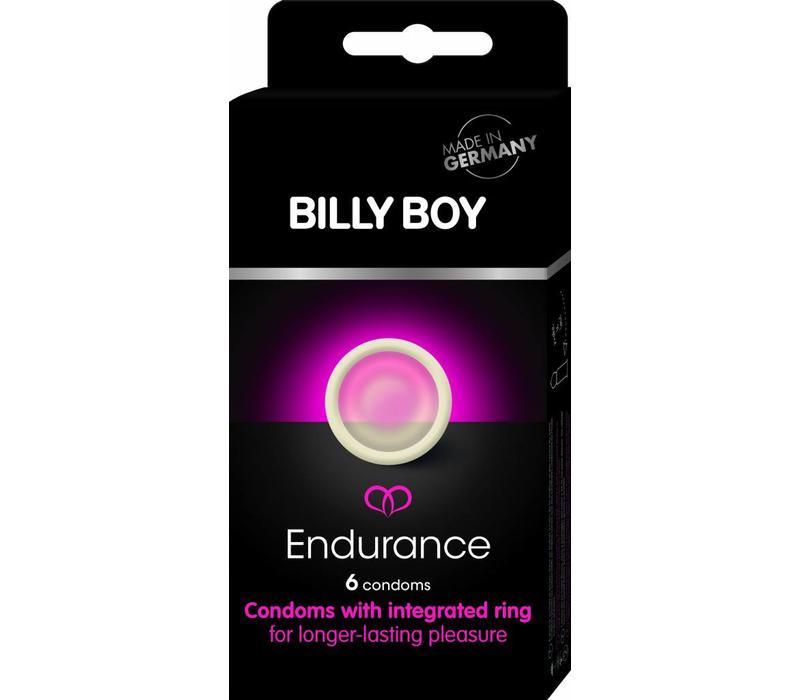 Endurance - 6 condooms met ring