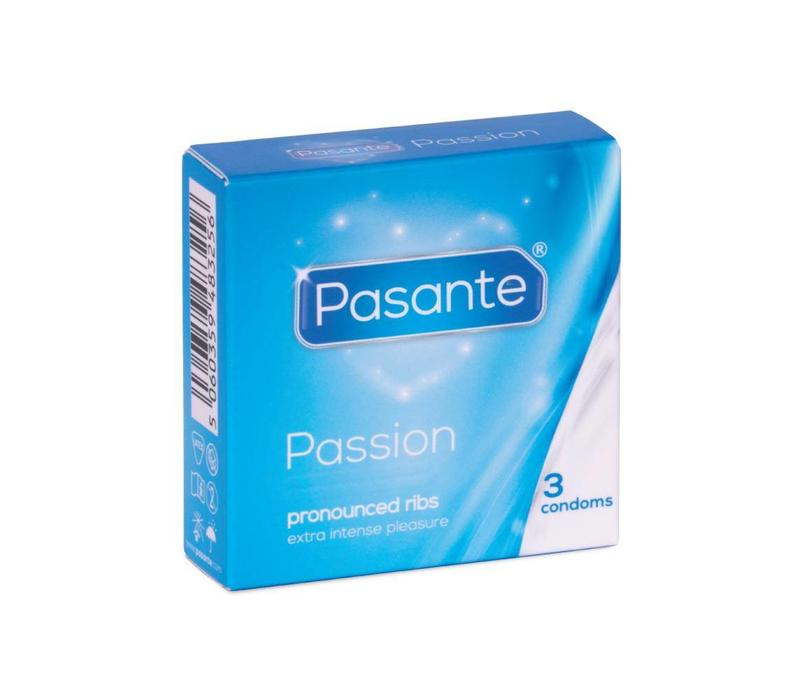 Ribbed Passion geribbelde condooms