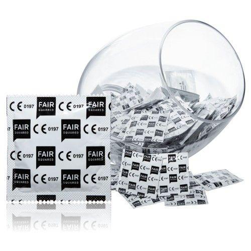 Fair Squared XL 60mm Eco Fair Trade Condooms 100 stuks