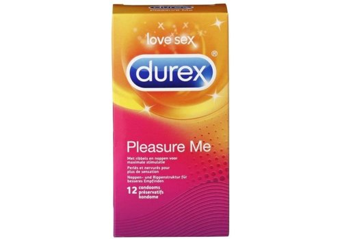 Durex Pleasure Me condooms