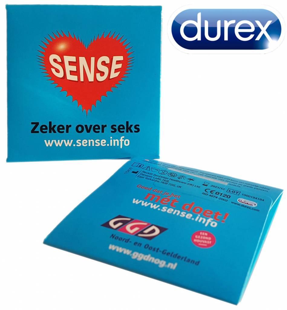 Durex Condooms Verpakking Met Eigen Bedrukking