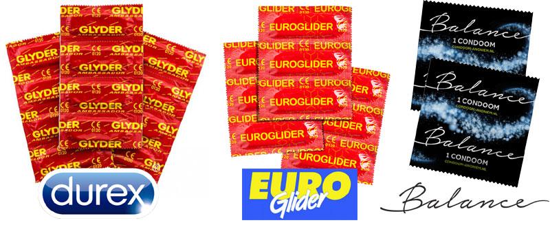 Vergelijk Durex Euroglider Balance
