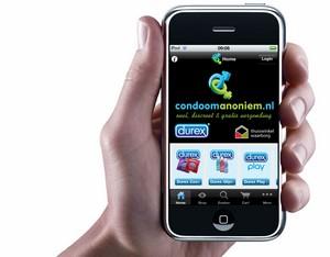 iPhone App in 2010 van Condoom-Anoniem