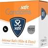 Safe Intense condooms - met ribbels en nopjes