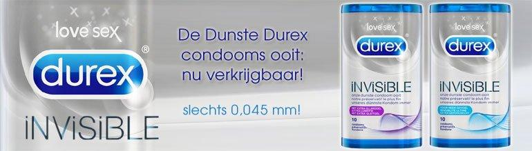 Durex Invisible Dunste condooms