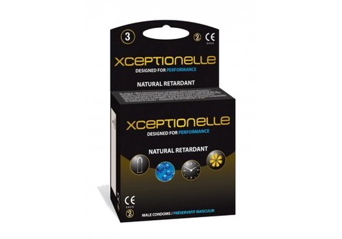 Xceptionelle condooms 3 stuks