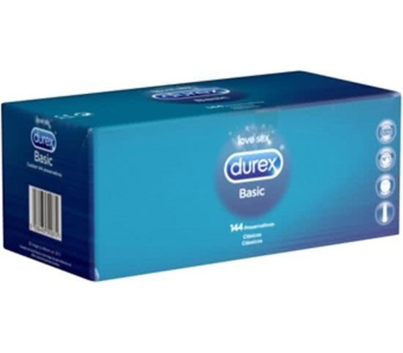 Basic 144 condooms grootverpakking