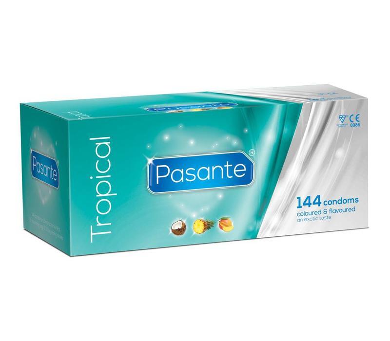 Tropical Flavoured condooms met smaak