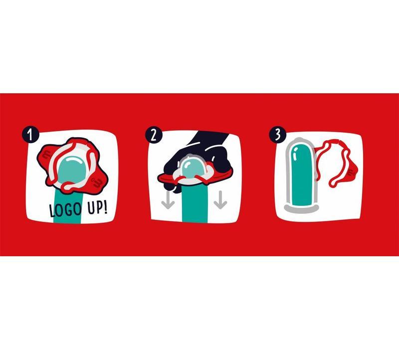 condooms (doosje 3 stuks)
