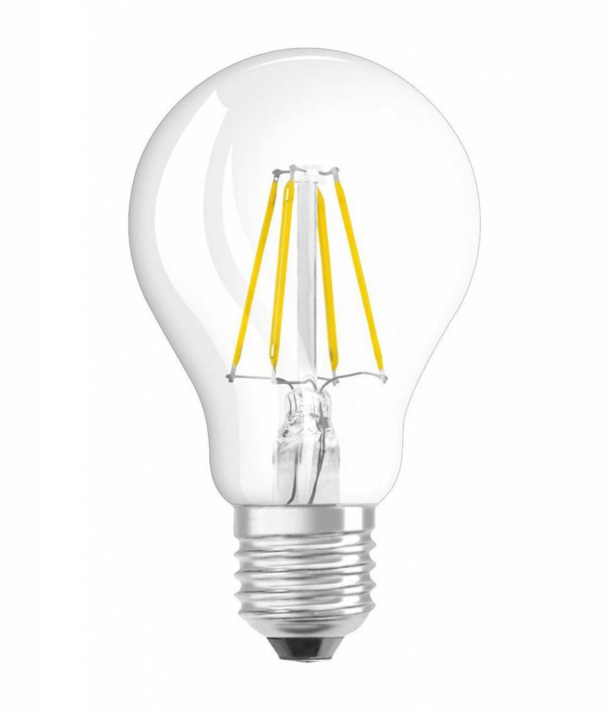dimbare led lamp 4w met filament 2200k peer