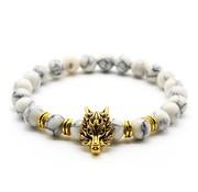 Triad Leeuw Armband Marmer Goud