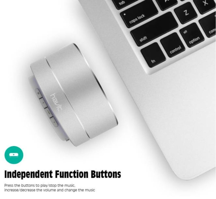 Havit Bluetooth Speaker Draadloos met LED-verlichting - VOLTShop