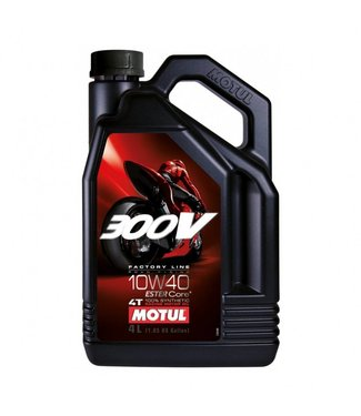 Motul Motul 300V vol synthetisch 10w40 road racing