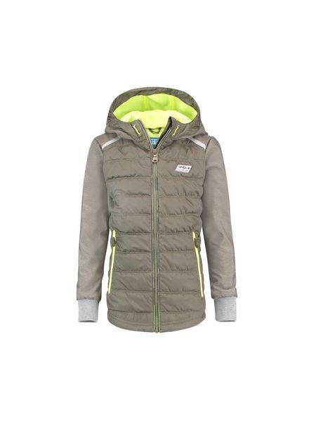 Vingino Jacket Tran Army Green Katoen
