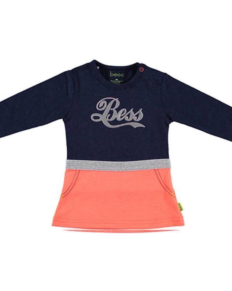 b.e.s.s. Bess Dress Bess 1813-005 Katoen