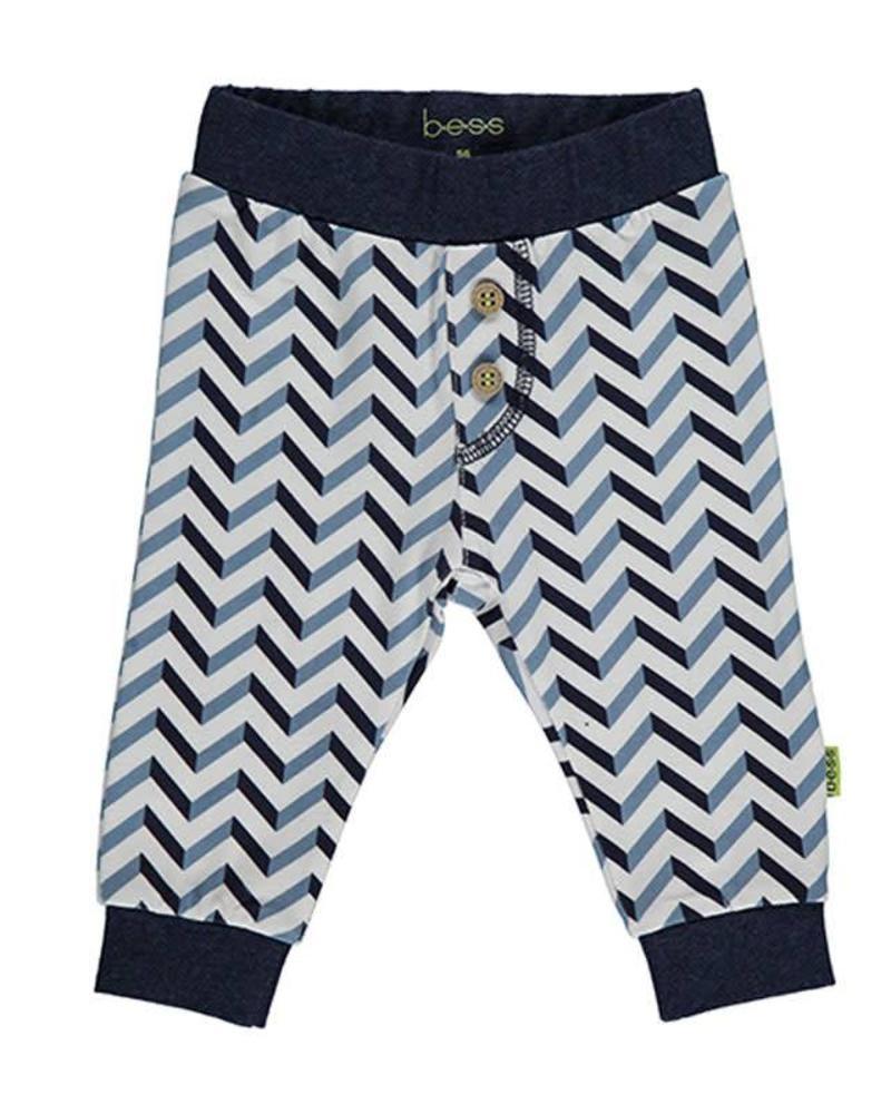 b.e.s.s. Bess Jersey Pants Boys 1818-001 Katoen