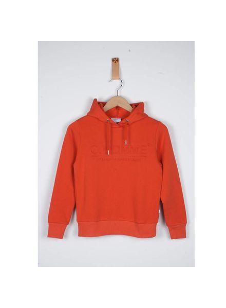 Grunt Sweater Fiesta Red Katoen Elastan