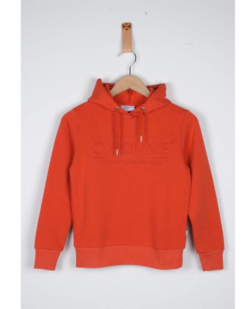 Grunt Grunt Sweater Fiesta Red Katoen Elastan