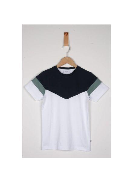Grunt T-shirt Eldur White Katoen Elastan