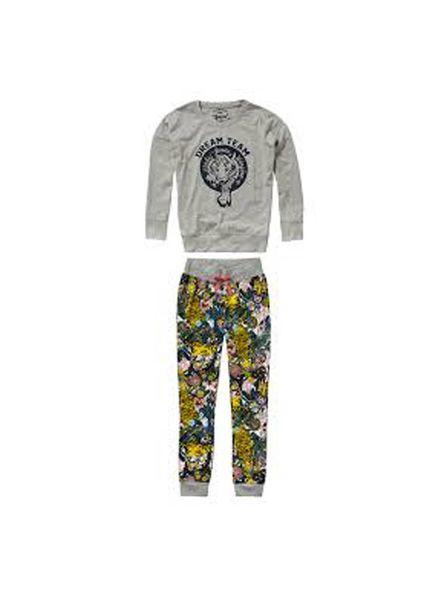 Vingino Vingino Pyjama Wadine Multicolor Old Yellow Katoen Elastan