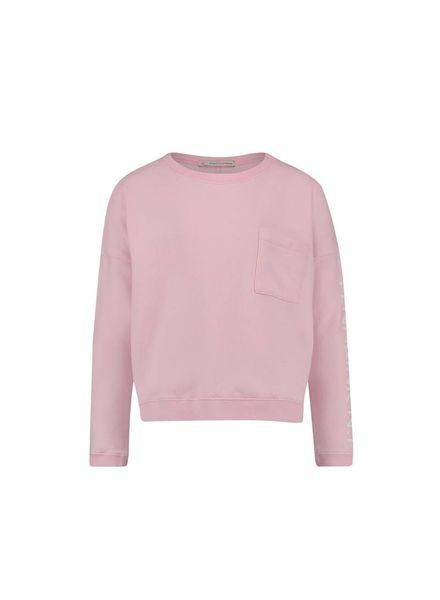 PENN&INK; Sweater S18F181K Pink/White Katoen Elastan