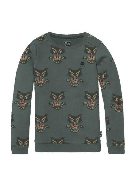 Sweater Wolfblood Multi Katoen