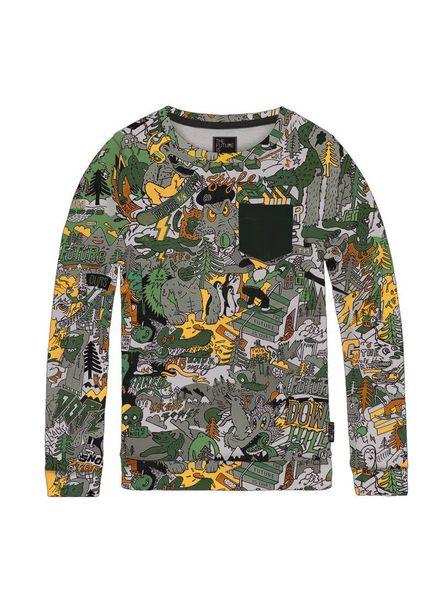 Sweater Slider B Multi Katoen