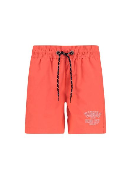 Vingino Beach Short Yari Coral Punch Red
