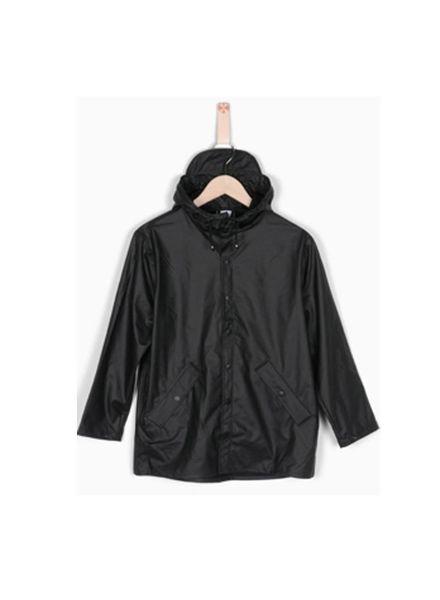 Grunt Raincoat Drop Black
