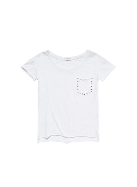Circle of Trust T-shirt Reese White Katoen