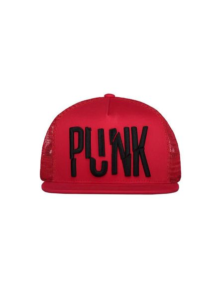 Nik & Nik Punk Cap Poppy Red Katoen