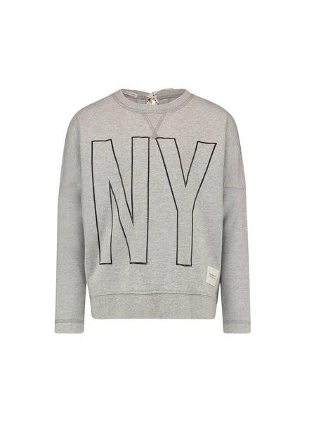 PENN&INK; Sweater S18F169K Grey/Black Katoen Elastan