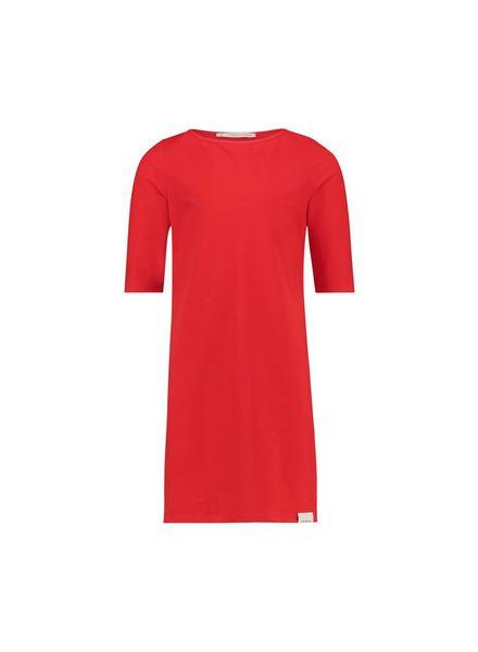 PENN&INK; Dress Stripe S18N09K Flame/Grid Katoen Elastan