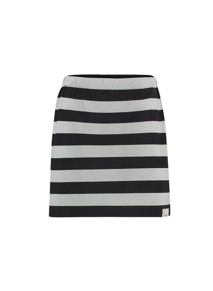 PENN&INK; Skirt Stripe S18N229K Grid/grey  Elastan