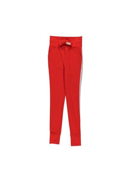 PENN&INK; Trousers Stripe S18N013K Flame/Grid  Elastan