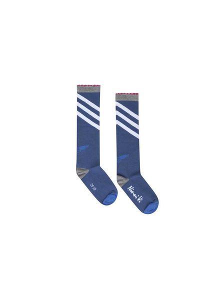 Ninni Vi Socks NVSS18-36 Dark Blue Katoen Elastan