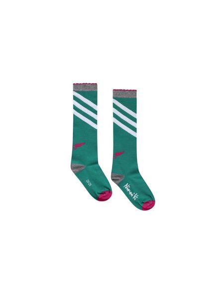 Ninni Vi Socks NVSS18-36 Green Katoen Elastan