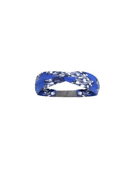 Ninni Vi Headband NVSS18-37 AOP 1 Blue Katoen Elastan